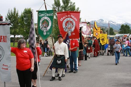Lehi, UT: Scottish Festival Clan Parade