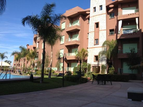 Marrakesh Garden: near poolside