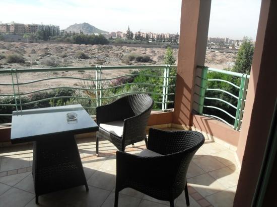 Marrakesh Garden: balcony first floor view