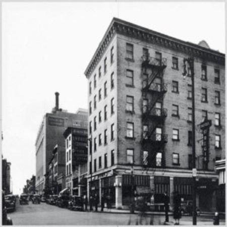 St. Regis Hotel In 1924