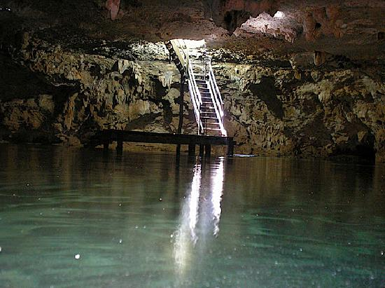 LabnaHa Cenotes & Eco Park: Photo prise depuis la salle principale.