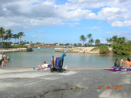 Jupiter, FL: view of lagoon
