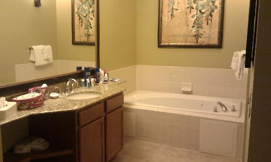 Main Ensuite Jacuzzi Bath Shower Room On The Right Picture Of