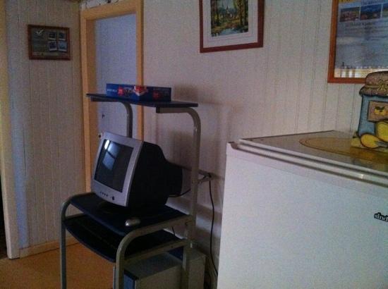 Hostel Keoken : computer for free use