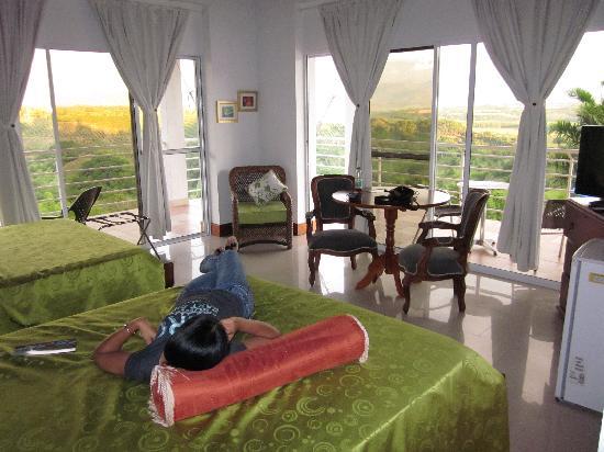 Hotel Mirador Las Palmas: Vista desde la habitación