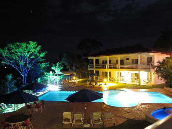Hotel Mirador Las Palmas: La noche desde el balcón de la habitación