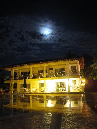 Hotel Mirador Las Palmas: Luna junto a la piscina