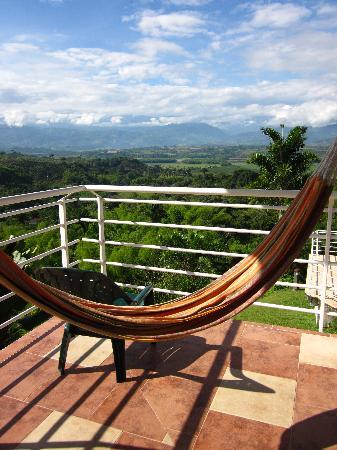 Hotel Mirador Las Palmas: Qué paraiso (desde el balcón)