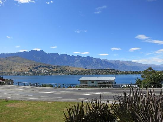 Pounamu Apartments: View from our apartment