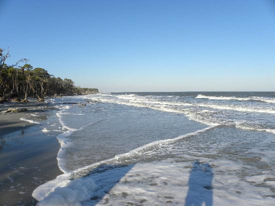 Hunting Island State Park: beautiful beach