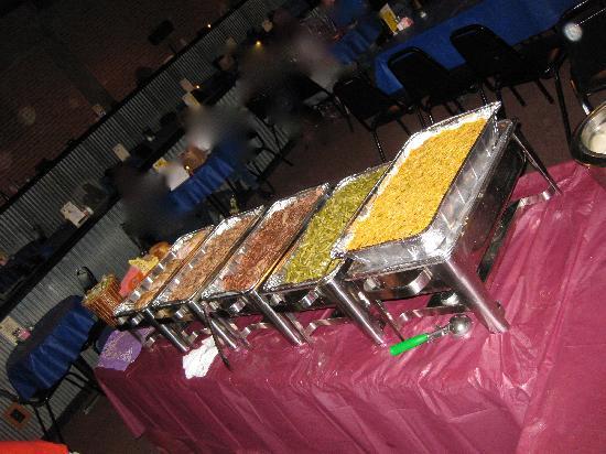 Buffet Dinner, Mosley Street Melodrama, Wichita, KS