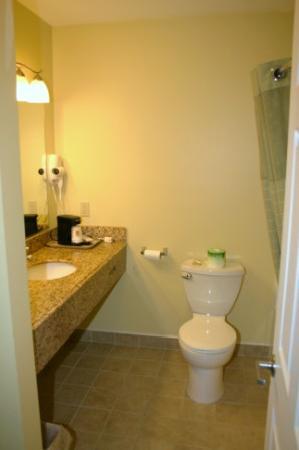 Super 8 Mifflinville Near Bloomsburg: Bathroom