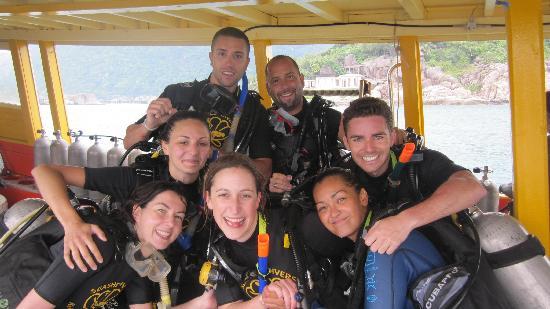 Seashell Divers: Padi Open Water Last Dives