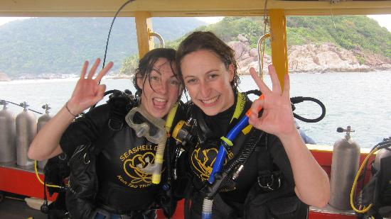 Seashell Divers: Padi open Water Course