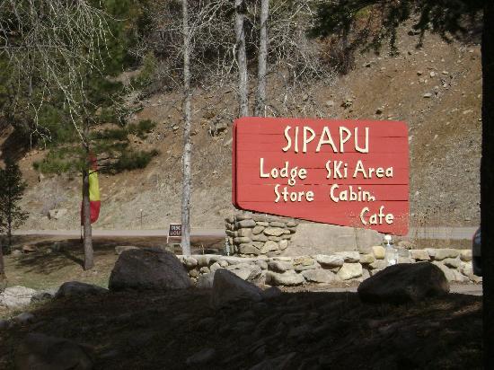 Sipapu Ski & Summer Resort: Sipapu Entry...