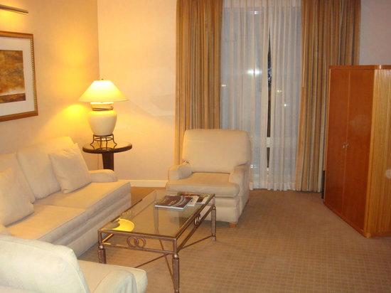 Sofitel New York: sitting room