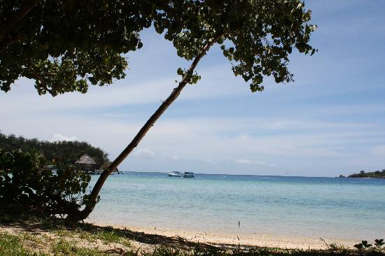 Likuliku Lagoon Resort: the view from deluxe bure - picture perfect!