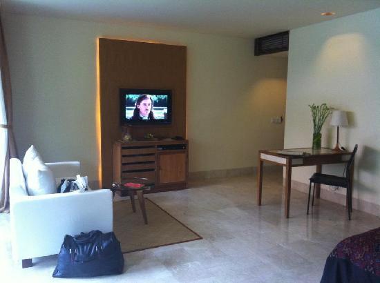 Komaneka at Rasa Sayang: Living room area