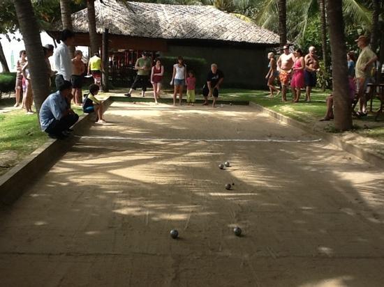 Saigon Mui Ne Resort: fridays petanque tournament