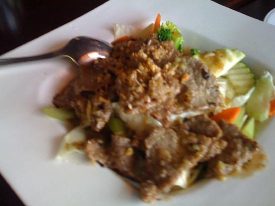 River Kwai Thai Cuisine: Beef Katiam