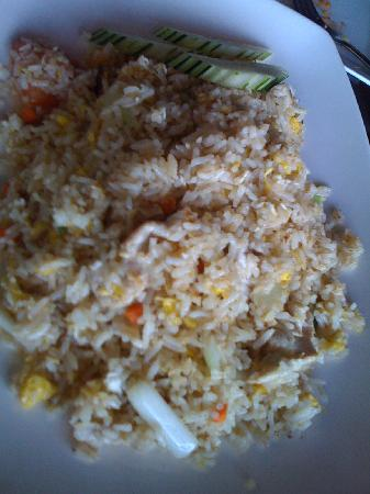 River Kwai Thai Cuisine: Pork Kao Pad (fried rice)