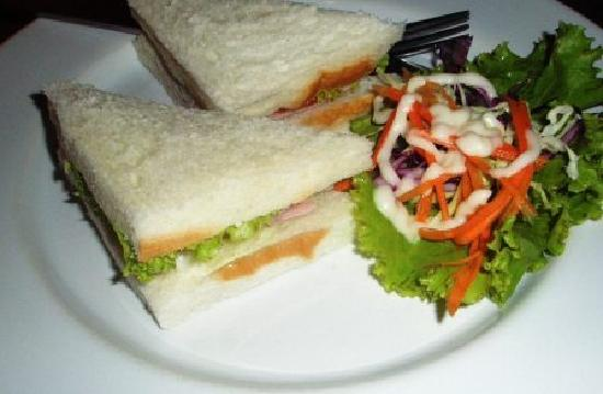 Bangkok City Suite: Sandwiches