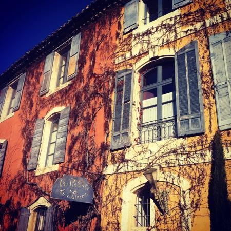 Beaumettes, France: Au ralenti dans l'hiver