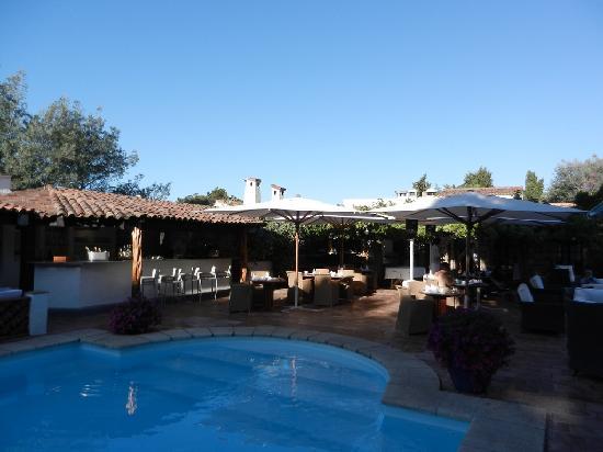 Miramar Boutique Hotel : pool area