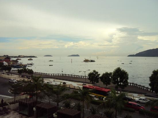 Hyatt Regency Kinabalu: view from room 341