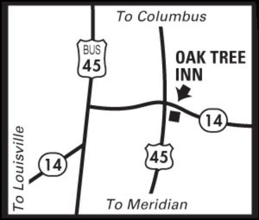 Oak Tree Inn: Regional Map
