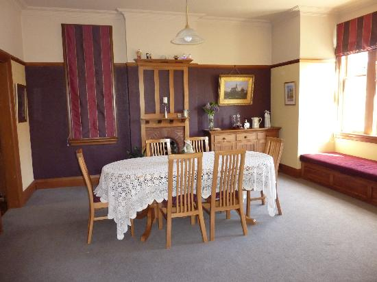 Sefton Homestay Bed and Breakfast: Dinning Room