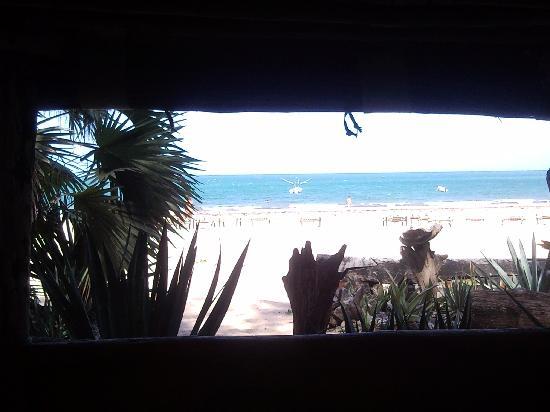 Che Shale Beach: Vista dal ristorante