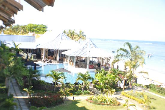 Pearle Beach Resort & Spa: View from the Balcony