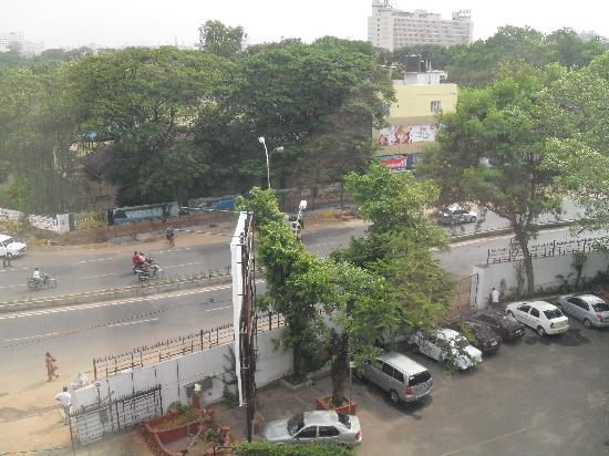 Vivanta by Taj - Connemara, Chennai: View from the window Street side