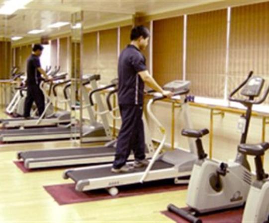 Bank Hotel: Fitness Center