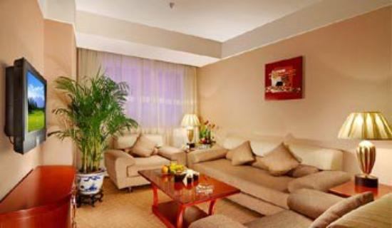 Jingmin Central Hotel: Superior Deluxe Suite - Living Area