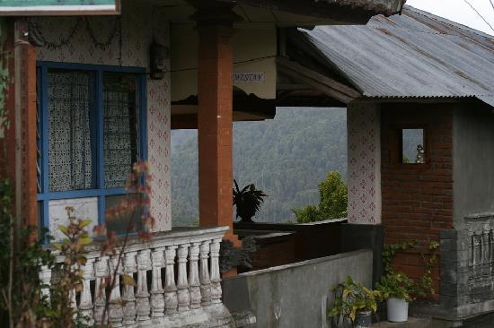 One Homestay: The view from the road to the homestay