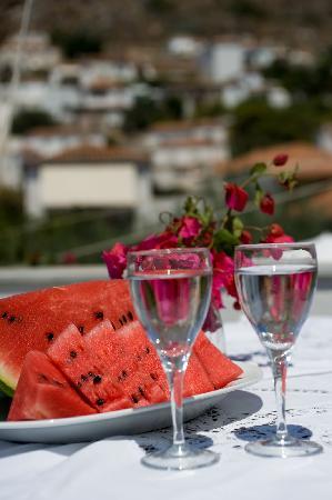 Pension Erofili: terrace