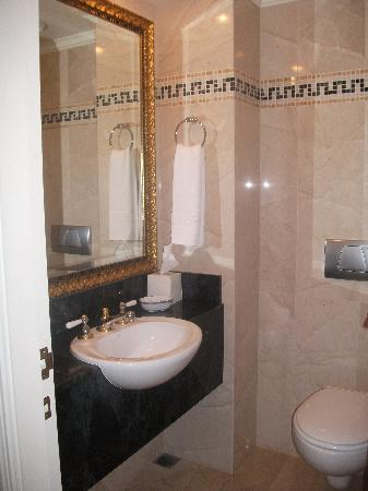 Palazzo Versace: Small powder room and toilet