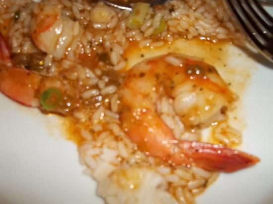CrossFire Deli & Grill: shrimp ettoufe