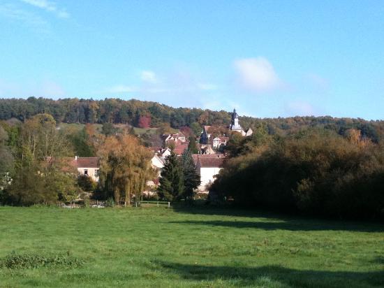 Domaine de La Louveterie : Surrounding countryside and view of the village