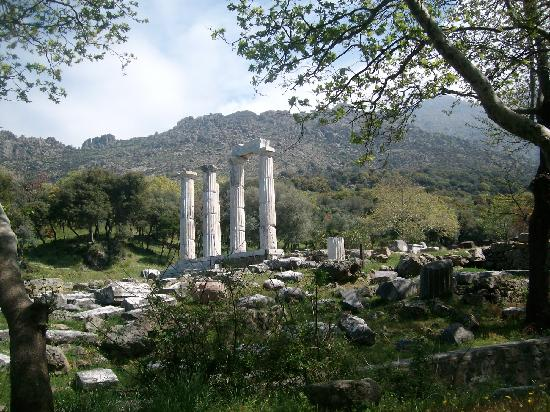 Sanctuary of the Great Gods Ιερο των Μεγαλων Θεων ...
