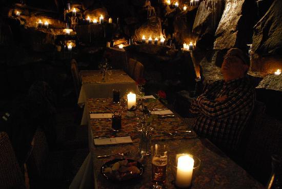 November evening in restaurant Origo