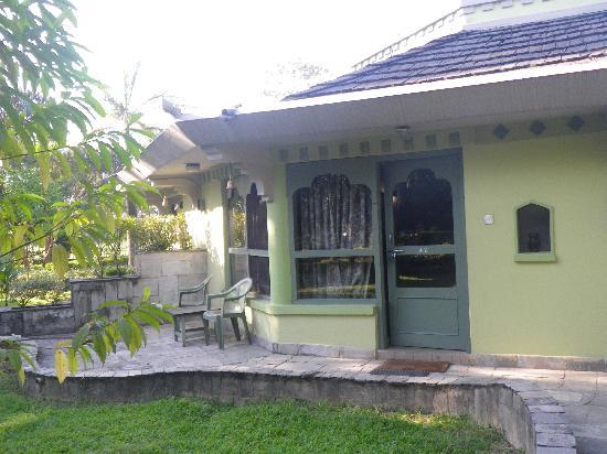 The Rhino Residency Resort: Room from outside