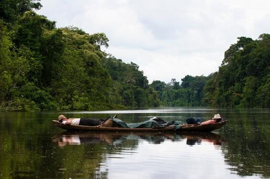 Amazon Reise Eco Lodge: Canotaje