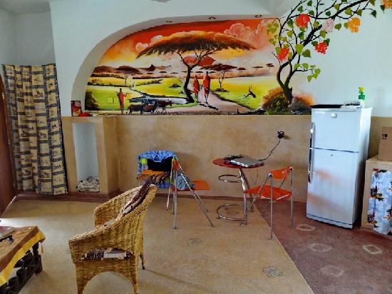 Jambo House Resort: particolare della sala