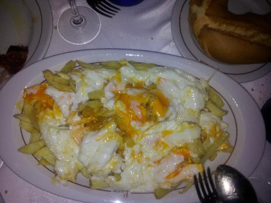 Casa Lucio : Huevos Rotos