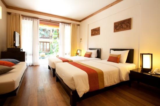 Baan Talay Dao Resort: Studio Room @ garden view