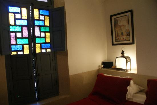 Riad Bel Haj: Meknes room