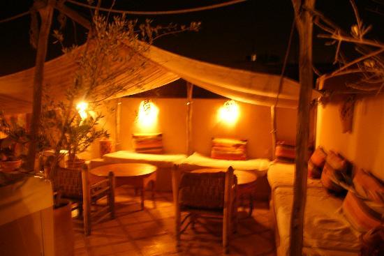 Riad Bel Haj: Terrace